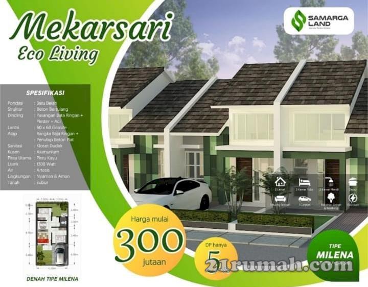 Rumah Bandung murah cukup 5 juta