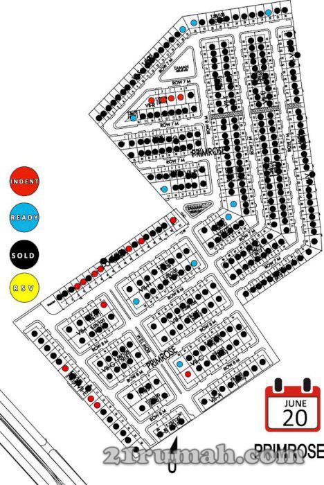 4000 Koleksi Gambar Rumah Cluster Primrose Galuh Mas Karawang HD Terbaik
