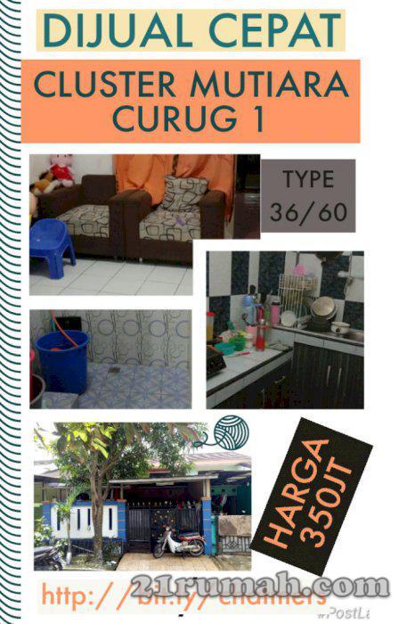 Di jual cepat rumah siap huni di Karawaci Tangerang | IDRumah